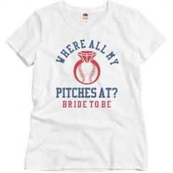 Baseball Bachelorette Sale Tees