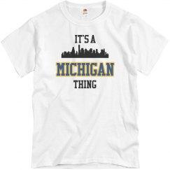 It's a michigan thing