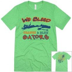 We Bleed Orange & Blue: Swamp Splatter (Florida Gators)