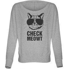 Check Meowt Cat