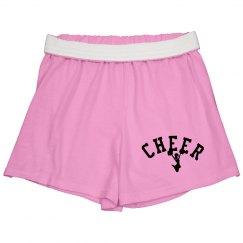 Pink cheer shorts