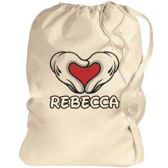 Custom Cheer Gear Laundry Bag for Camp or School