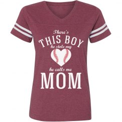 Baseball Mom's Fandom Tee