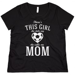 Soccer Mom's Stolen Heart Shirt