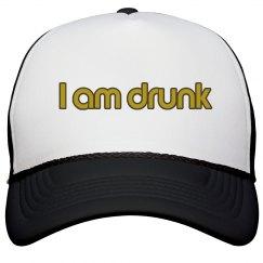 I am drunk hat