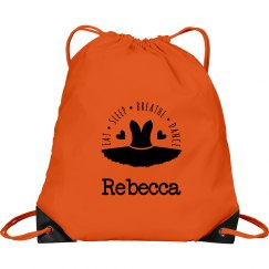 Dancing Drawstring Bag