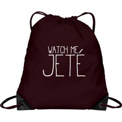 Watch Me Jete Dancing Bag