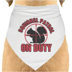 Squirrel Patrol Bandana