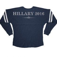 Silver Metallic Hillary Slub