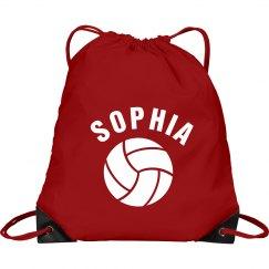 Sophia volleyball bag