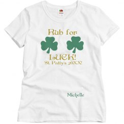 St Patrick's Rub For Luck