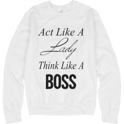 Think Like A Boss