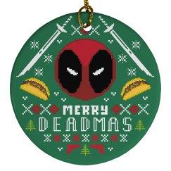 A Merry Deadmas Ornament