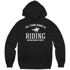 Care about is riding