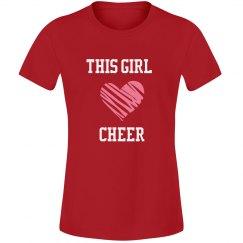 Girl loves cheer