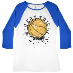 """I Got This"" Basketball"