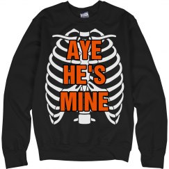 Aye He's Mine Skeleton
