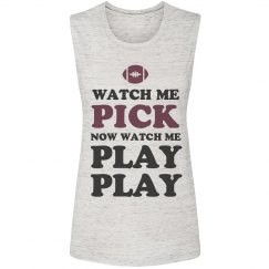 Cute Football Watch Me Pick