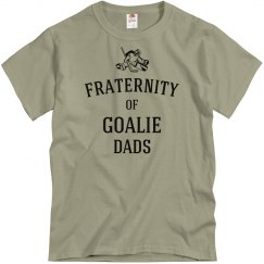 Fraternity of goalie dads