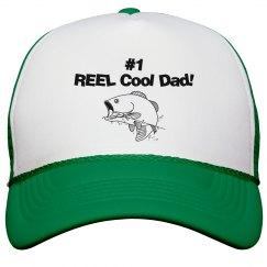 REEL Cool Dad hat - green