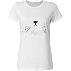 Nyaa Cat Shirt