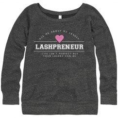 Lashpreneur Varsity Sweater