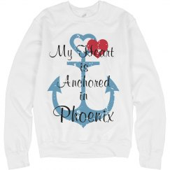 Heart anchored in Phoenix
