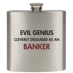 Cleverly disguised as a Banker