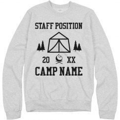 Custom Camp Name And Staff