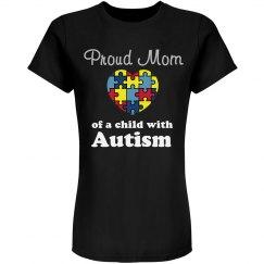 Rhinestone Autism Tee