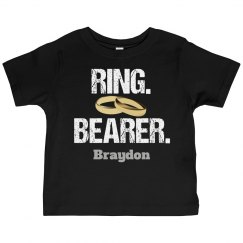 Cool Ring Bearer Wedding