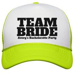 Custom Bachelerette cap