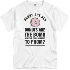Funny Donuts Prom-Posal