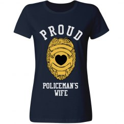 Proud Policeman's Wife