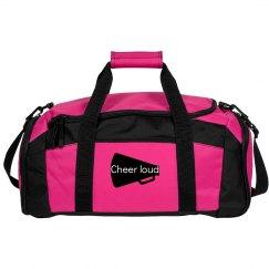 Cheer loud gym bag