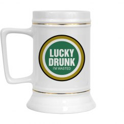 Lucky Drunk Spoof Logo