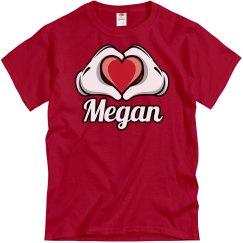 I love Megan