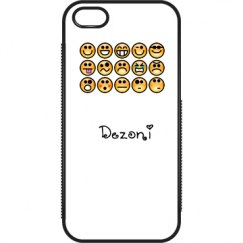 Dezoni Silly Face Pone Case