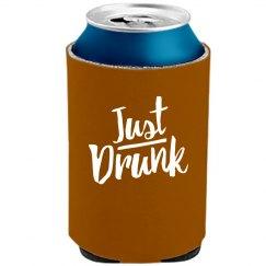 Just Drunk Trendy Text