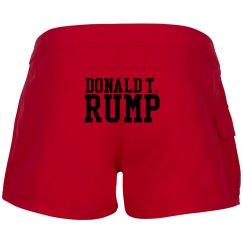 T Rump, Boardshorts