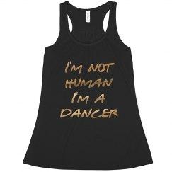 I'm Not Human Metallic Dancer