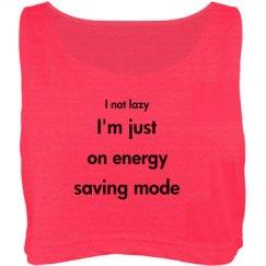 When people say u r lazy