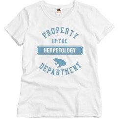 Herpetology Department