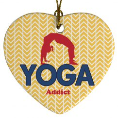 Yoga Ornament Keepsake