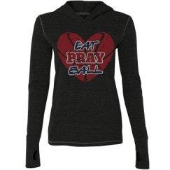 Eat Pray Ball Black