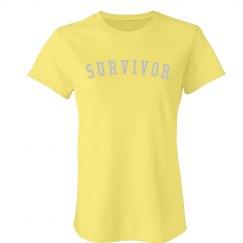 Endo Survivor bling tee