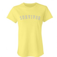 Endo Survivor bling tee