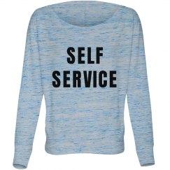 SELF SERVICE Dolman Long Sleeve