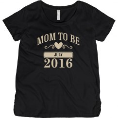 Due July 2016