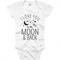 Baby Love To Moon And Back